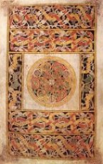 Book of Durrow, page tapis